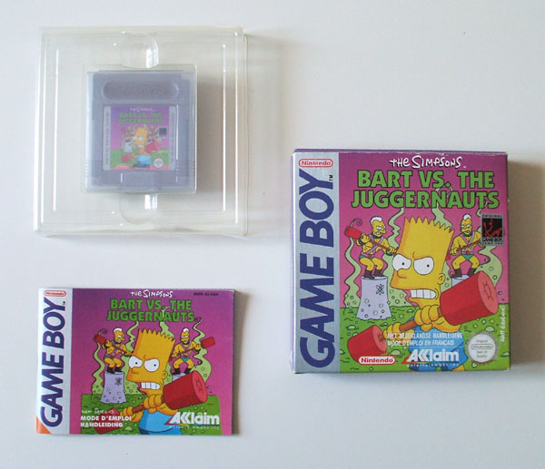 Petite collection Game Boy FR (jeu set et match) - Page 3 Bart