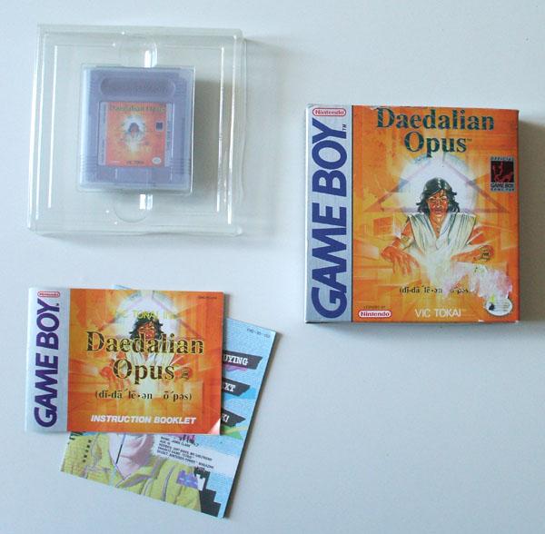 Petite collection Game Boy FR (jeu set et match) - Page 2 Daedalian