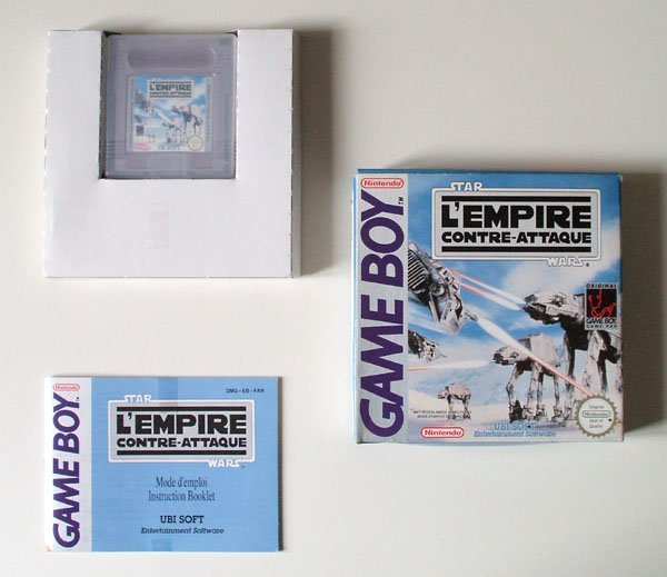 Petite collection Game Boy FR (jeu set et match) - Page 3 Empire