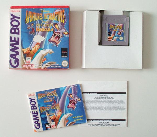 Petite collection Game Boy FR (jeu set et match) Hercule