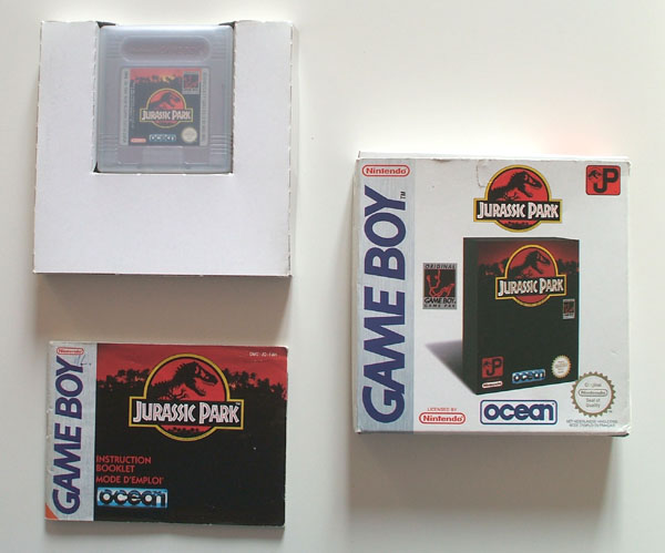 Petite collection Game Boy FR (jeu set et match) - Page 2 Jurassic