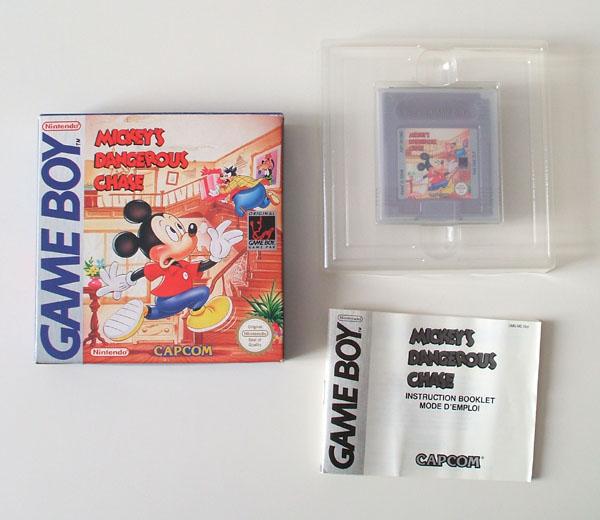 Petite collection Game Boy FR (jeu set et match) Mickey