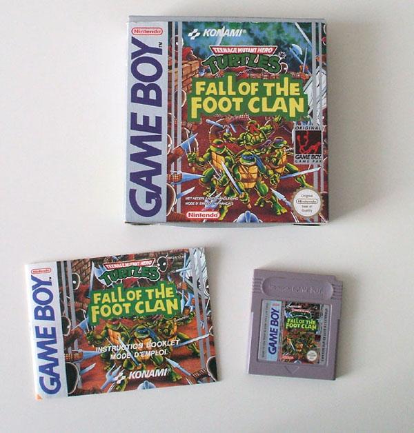Petite collection Game Boy FR (jeu set et match) Ninja