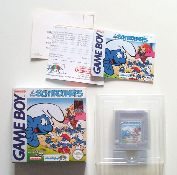 Petite collection Game Boy FR (jeu set et match) - Page 2 Smurfen