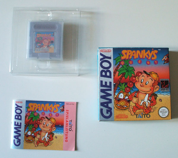 Petite collection Game Boy FR (jeu set et match) - Page 2 Spanky