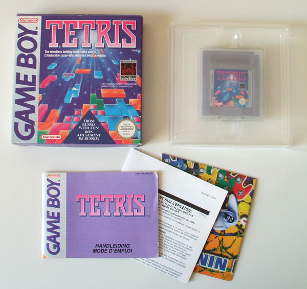 Petite collection Game Boy FR (jeu set et match) Tetris