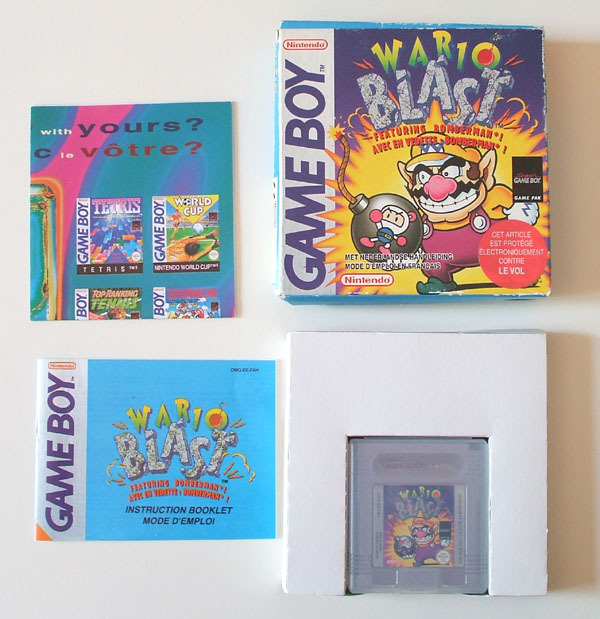 Petite collection Game Boy FR (jeu set et match) Wario